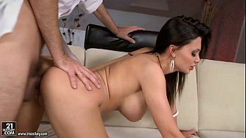 Hot Busty Aletta Ocean Getting Pounded Doggy Position