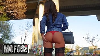 Gorgeous Mofos Teen Picked Up And Drilled Vigorously In Public